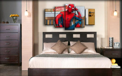 Spiderman - Homecoming Queen And King - Canvas Monsters