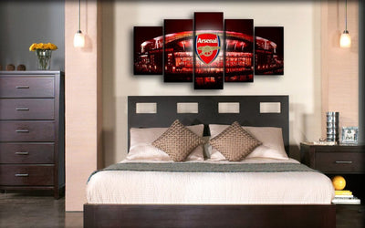 Arsenal - Emirates Stadium Home Of The Gunners - Canvas Monsters
