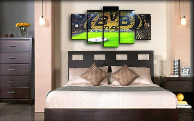 Borussia Dortmund - BVB Field - Canvas Monsters