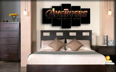 The Avengers - Original Logo - Canvas Monsters