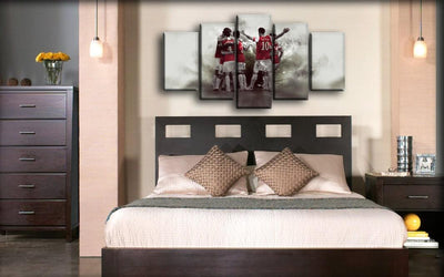 Arsenal - Goal Celebration - Canvas Monsters