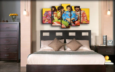 The Beatles - Sgt Pepper Iconic - Canvas Monsters