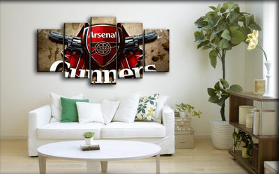 Arsenal - Twin Gunners - Canvas Monsters