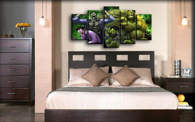 Incredible Hulk - Transformation - Canvas Monsters