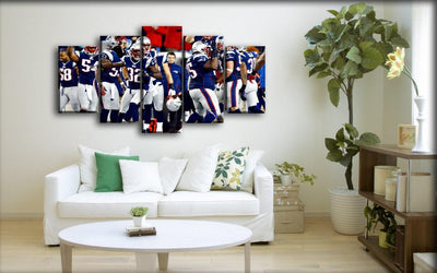 New England Patriots - Team Canvas - Canvas Monsters