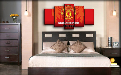 Manchester United - Guarding Devils - Canvas Monsters