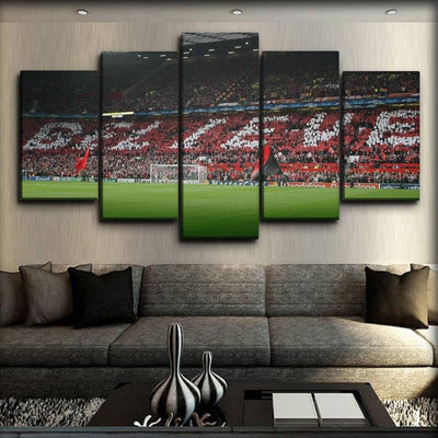 Manchester United - Believe - Canvas Monsters