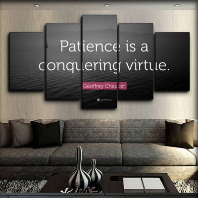 Motivational - Patience Is A Conquering Virtue