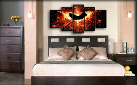 Image of Batman - Flying In A Chaotic Gotham