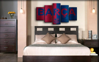Barcelona - Barca - Canvas Monsters