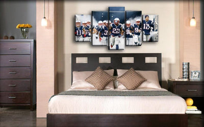 New England Patriots - The Dream Team - Canvas Monsters