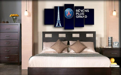 Paris Saint-Germain - Revons Plus Grand - Canvas Monsters