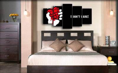 Green Day - Heart Bomb I Don't Care - Canvas Monsters