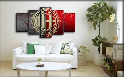 AC Milan 14 - Canvas Monsters