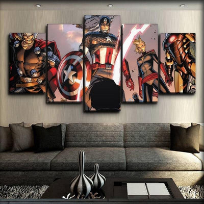 Captain America - The Avengers in Comics - Canvas Monsters