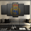 Real Madrid - Vintage Wall - Canvas Monsters