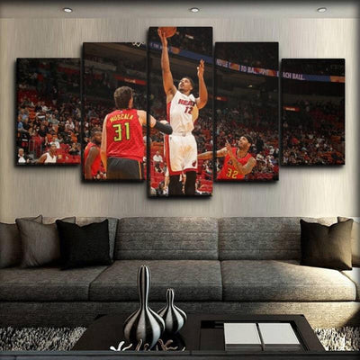 Miami Heat 16 - Canvas Monsters