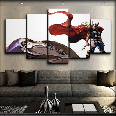 Thor - Marvel Art of Mike Deodato - Canvas Monsters