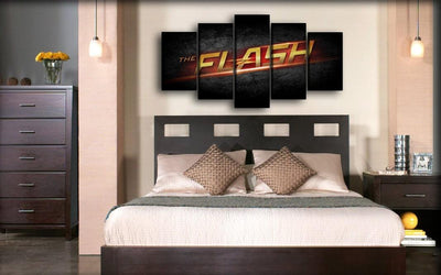 Flash - TV Title - Canvas Monsters