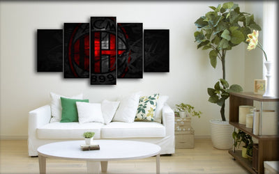 AC Milan 3 - Canvas Monsters