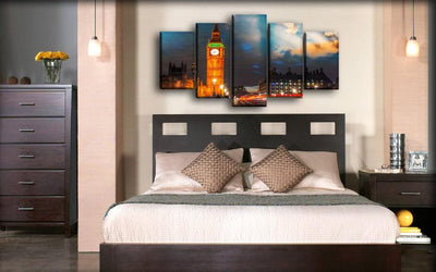 England London Big Ben - Canvas Monsters
