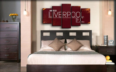 Liverpool - Anfield - Canvas Monsters