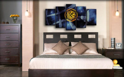 Doctor Strange - Magic Circle Shield - Canvas Monsters