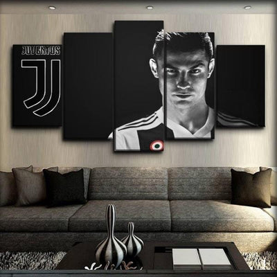 Juventus -  Welcome Ronaldo - Canvas Monsters