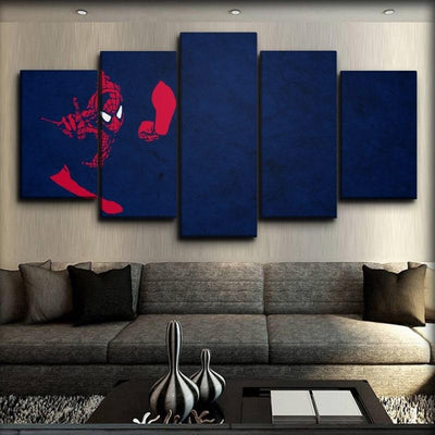 Spiderman - Classic Art Print - Canvas Monsters