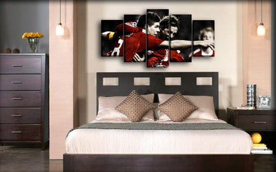 Liverpool - Steven Gerrard & Torres - Canvas Monsters