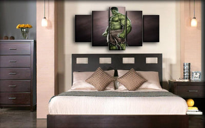 Incredible Hulk - Ready to Fight - Canvas Monsters
