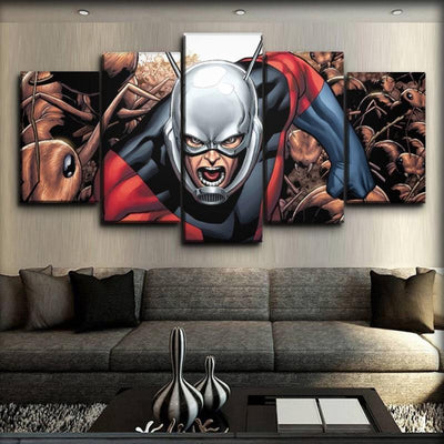 Ant man - Ants In The Comic Version - Canvas Monsters