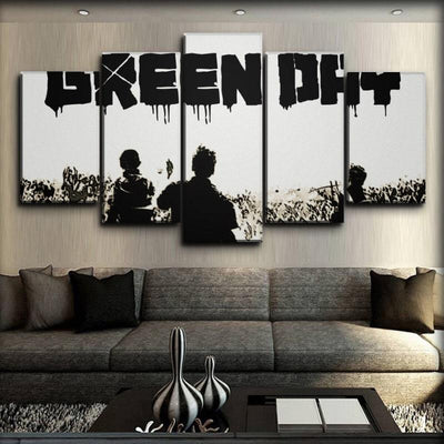 Green Day - Classic White Punk - Canvas Monsters