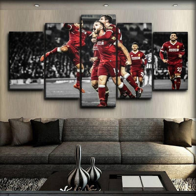 Liverpool - Henderson & The Team - Canvas Monsters