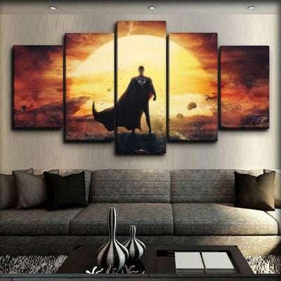 Superman - Facing The Sun - Canvas Monsters