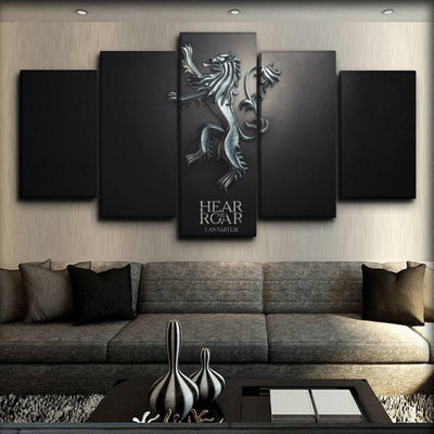 Game Of Thrones - Hear Me Roar - Canvas Monsters