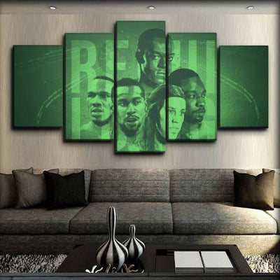 Celtics 6 - Canvas Monsters