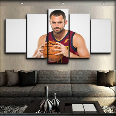Kevin Love - Pass The Ball - Canvas Monsters