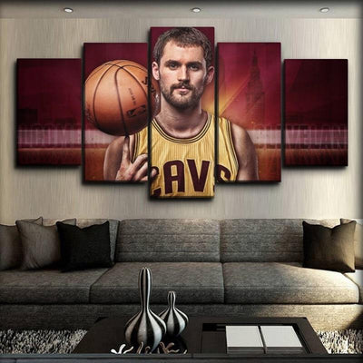 Kevin Love - Finger Spin Ball - Canvas Monsters