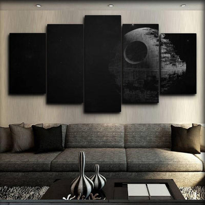 Star Wars - The Death Star - Canvas Monsters