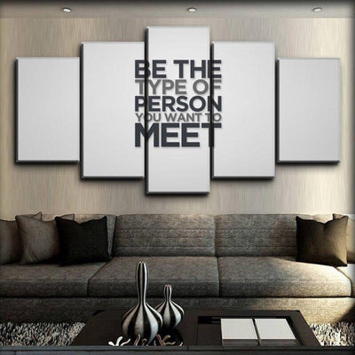 Motivational - Being Yourself - Canvas Monsters