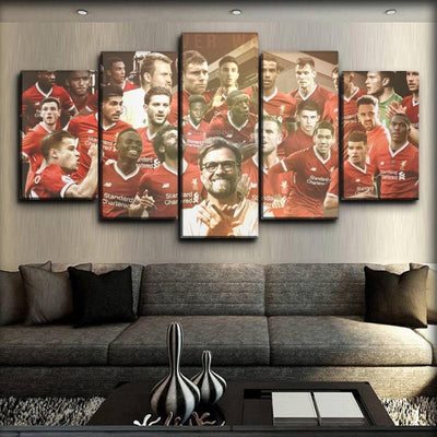 Liverpool - Jürgen Klopp Leading The Way - Canvas Monsters
