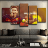 Barcelona - Messi King Of Football - Canvas Monsters