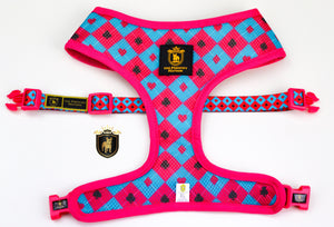 """Queen Of Hearts"" Reversible Harness"