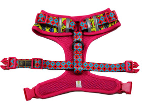 "✨NEW✨ ""Queen of hearts "" Bulldog Adjustable Harness ✨Bulldog Collection ✨"