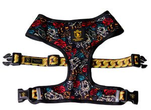 "🔥NEW ARRIVAL🔥 ""King of farts""👑⚔️⛓💨 Luxury Reversible Harness"