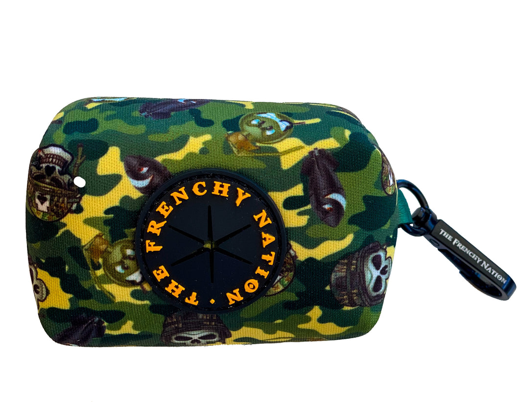 "✨NEW ARRIVAL ✨ ""Lil Tank"" Camo Waste bag holder"