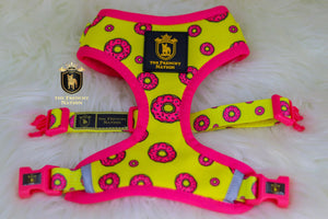 "✨New✨ ""Donut life "" Puppy Adjustable Harness"