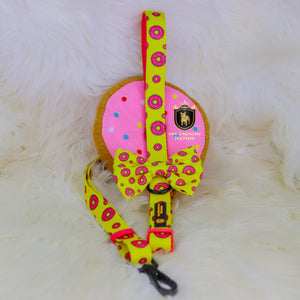 "✨New✨ ""Donut life"" Adjustable leash"