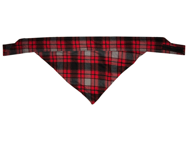 Annie Plaid Red Bandana